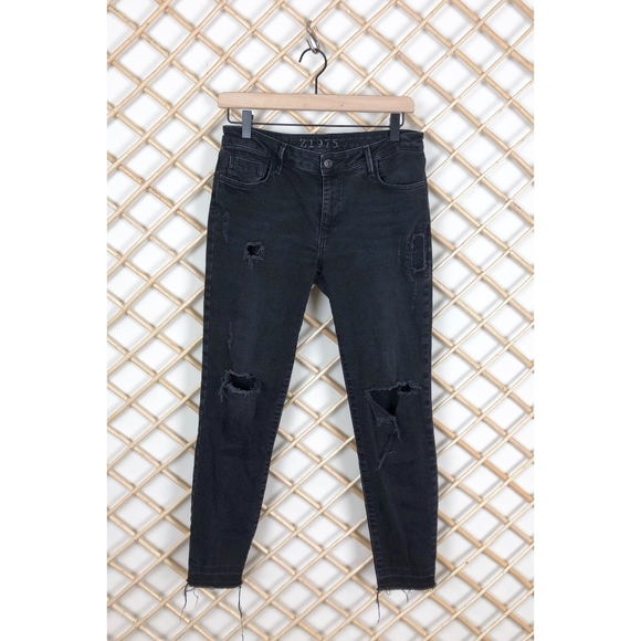 f2cd81a33b4 Zara Jeans | Sale Distressed Skinny | Poshmark